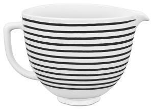 KitchenAid Keramikschüssel in horizontal stripes, 4,7 L