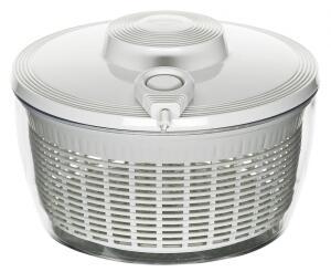 Küchenprofi Salatschleuder mit Seilzugtechnik in weiß