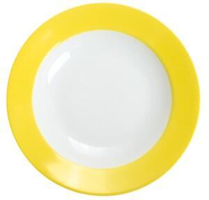 Kahla Pronto Suppenteller 22 cm in zitronengelb