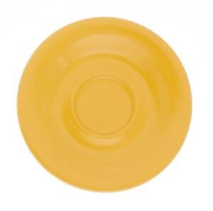 Kahla Pronto Untertasse 12 cm in orange-gelb