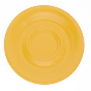 Kahla Pronto Untertasse 16 cm in orange-gelb