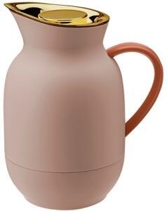 Stelton Isolierkanne Kaffee Amphora in soft peach