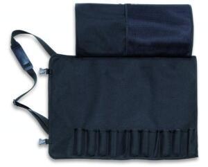 Dick Textil-Rolltasche für 12 Teile