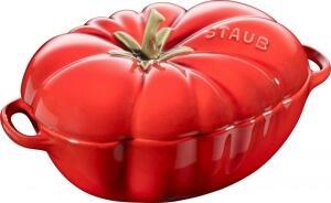 Staub Cocotte Tomate aus Keramik