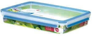 Emsa Clip & Close Frischhaltedose, rechteckig, 2,6 L