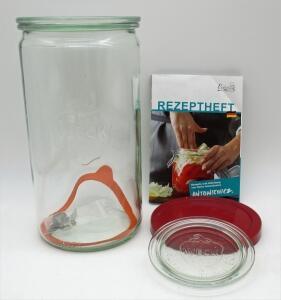 Schmitt Fermentier-Starter-Set Weckglas 1590 ml