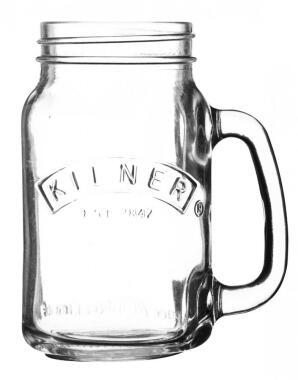 Kilner Trinkglas mit Griff