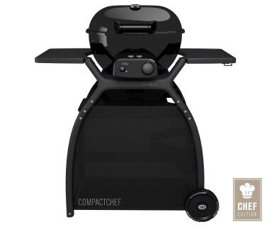 Outdoorchef Gaskugelgrill Compact Chef 480 G Gaskugelgrill 1-Ring Brennersystem