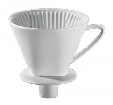 cilio Kaffeefilter mit Stutzen, Gr. 4