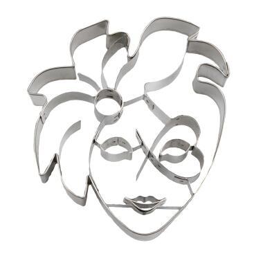 Städter Ausstechform Venezianische Maske 10 cm