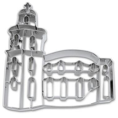 Städter Ausstechform Paulskirche Frankfurt 11 cm