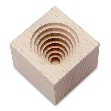Städter Holzserie Bienenkörbchen Ø 3,5 cm / H 3,5 cm