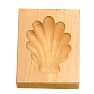 Städter Holzserie Muschel 5 x 6 cm
