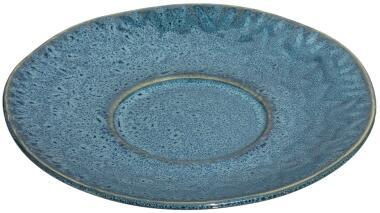 Leonardo Keramikuntertasse MATERA 15 cm blau, 4er-Set
