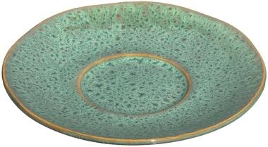 Leonardo Keramikuntertasse MATERA 15 cm grün, 4er-Set