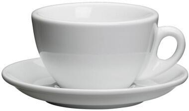 Cilio Milchkaffeetasse Roma in weiß