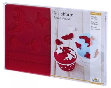 Birkmann Reliefform Blüten
