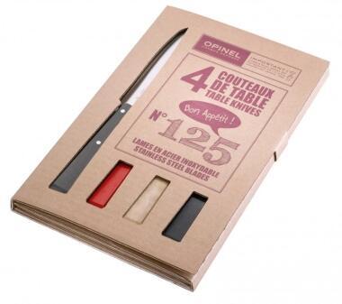Opinel Tafelmesser-Set Esprit Loft, 4-teilig