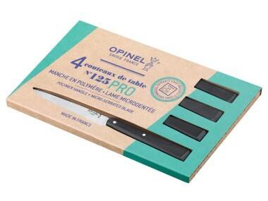 Opinel Tafelmesser-Set No. 125 Pro, 4er-Set