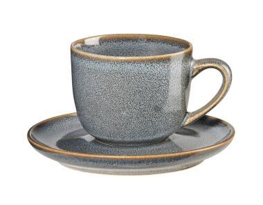 ASA Espressotasse mit Untertasse Saisons denim