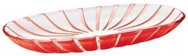 Guzzini Servierplatte Grace in rot