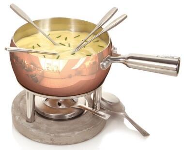 Boska Käsefondue-Set Kupfer Life