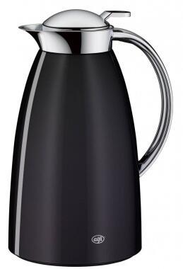 alfi Isolierkanne Gusto Metall in midnight black, 1 Liter