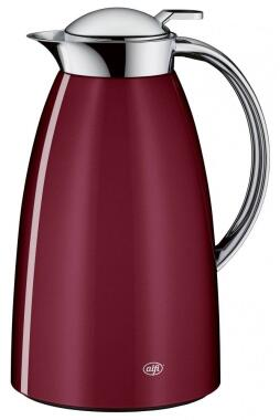 alfi Isolierkanne Gusto Metall in rubin red, 1 Liter