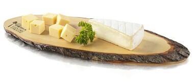 Boska Käsebrett L aus Baumrinde