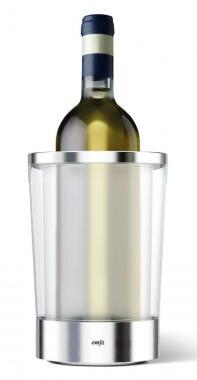Emsa Flow Slim Flaschenkühler Edelstahl