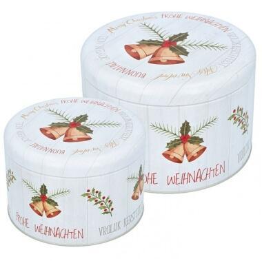 Birkmann Gebäckdosen-Set Frohe Weihnachten (groß)