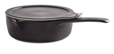Eschenbach Kasserolle mit Deckel Cook & Serve in anthrazit