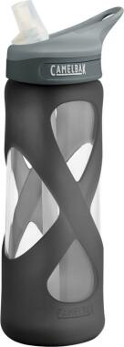 Camelbak Trinkflasche Eddy 700 ml aus Glas in charcoal