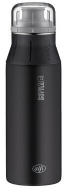 alfi Trinkflasche elementBottle Pure in schwarz, 0,6 Liter