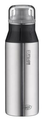 alfi Trinkflasche elementBottle Pure Edelstahl, 0,6 Liter