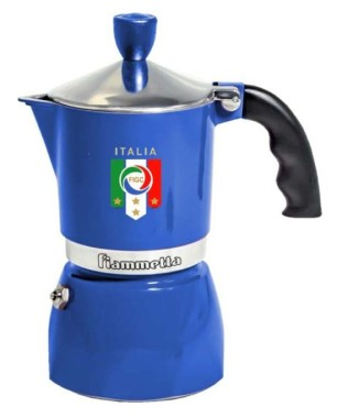 Bialetti Espressokocher Fiammetta azzurra