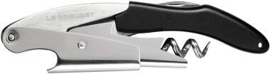 Le Creuset Screwpull Kellnermesser WT-130 schwarz