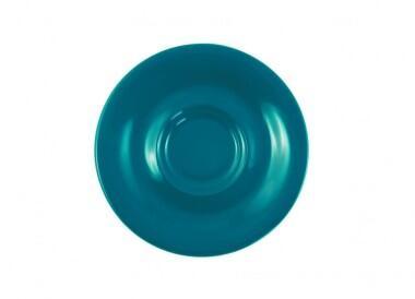 Kahla Pronto Untertasse 16 cm in grün-blau