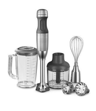 KitchenAid Stabmixer-Set in Edelstahl