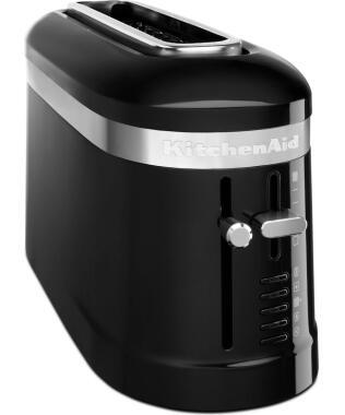 KitchenAid Design 2-Scheiben Langschlitztoaster in onyx schwarz