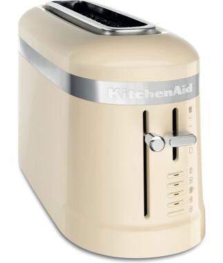 KitchenAid Design 2-Scheiben Langschlitztoaster in creme