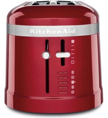 KitchenAid Design 4-Scheiben Langschlitztoaster in empire rot