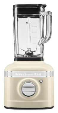 KitchenAid Standmixer Artisan K400 in creme