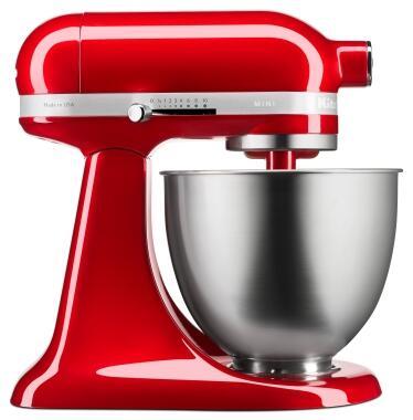 KitchenAid Mini-Küchenmaschine in liebesapfelrot, 3,3 L