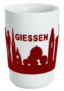 Kahla Five Senses Maxi-Becher 0,35 l in touch! rot Giessen