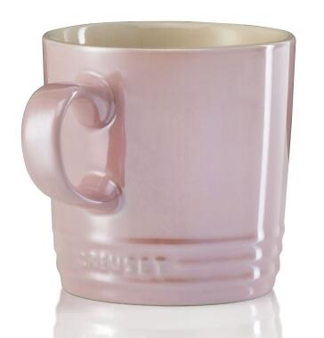 Le Creuset Becher 0,35 Liter in chiffon pink Metallic