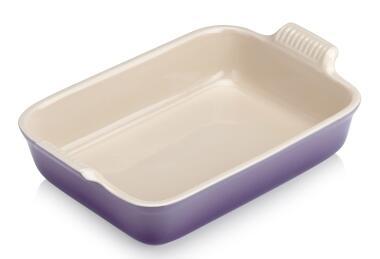 Le Creuset Auflaufform Tradition, rechteckig in ultra violet