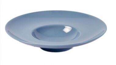 Pillivuyt Bretagne Teller Degustation Louna flach in dunkelblau