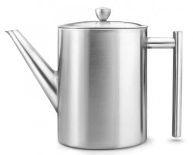 Bredemeijer Teekanne Minuet Cylindre matt gebürstet, 1,2 Liter