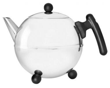 Bredemeijer Teekanne Duet Bella Ronde hochglanzpoliert, 1,2 Liter